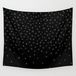 Black Stars Wall Tapestry