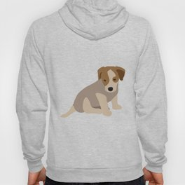 Adorable Jack Russell Puppy Hoody