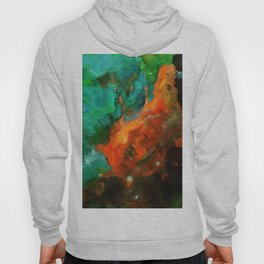 Bubble gum and bckground radiation Hoody