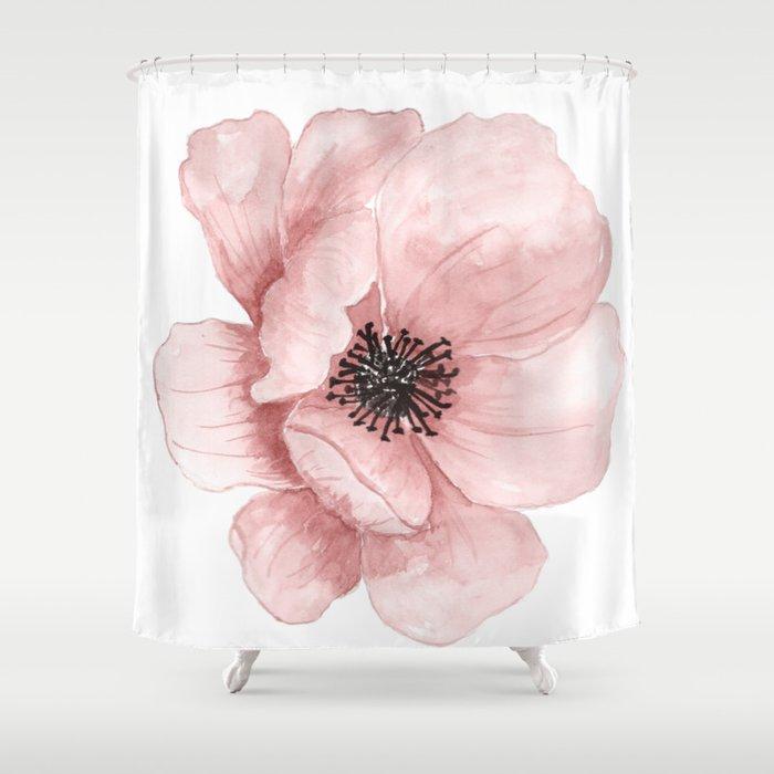 Flower 21 Art Shower Curtain