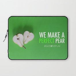 We Make a Perfect Pear Laptop Sleeve