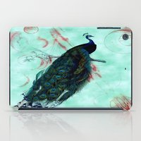 peacock iPad Cases featuring Peacock by SuzanneCarter