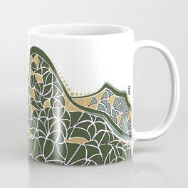 Geometric Mountain Coffee Mug