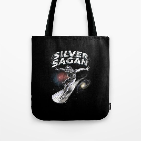 Silver Sagan Tote Bag