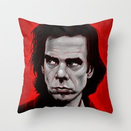 Nick Cave Throw Pillow