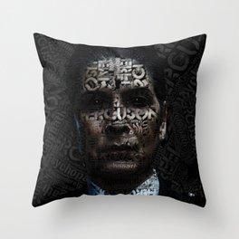Joan Ferguson  I am to scare... Throw Pillow