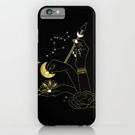 The Goddess Hands iPhone Case
