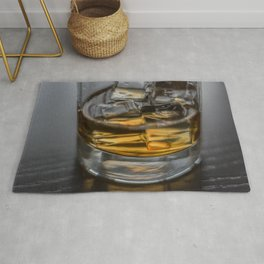 Scotch on the Rocks Rug
