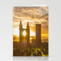 scotland Stationery Cards featuring Cathedral Scotland by Sierra Whiskey Bravo