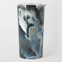 Wolf In Space Travel Mug