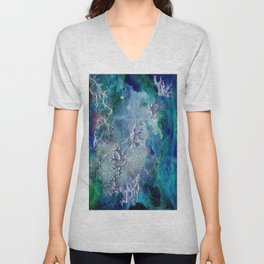 Lunar neuronal essence Unisex V-Neck