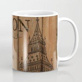 Vintage Travel Poster London 2 Coffee Mug