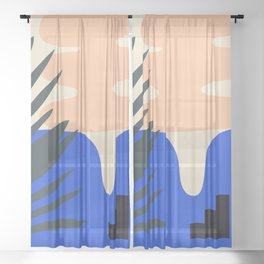 Shape study #14 - Stackable Collection Sheer Curtain