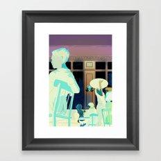 Damsel in Distress Framed Art Print