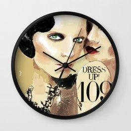 DRESS UP! 109 Wall Clock