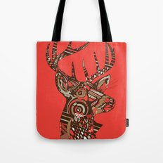 ROAD KILL ~ RED Tote Bag
