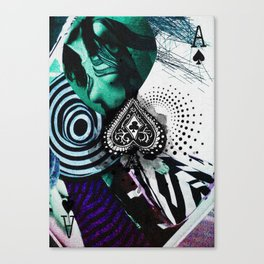 _ACE OF SPADES Canvas Print