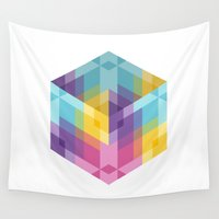 fig Wall Tapestries featuring Fig. 024 by Maps of Imaginary Places