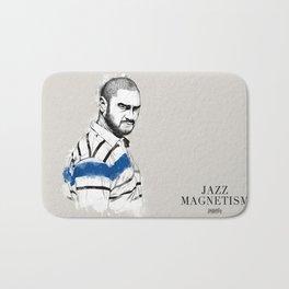 Kase.O Jazz Magnetism Bath Mat