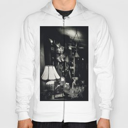 If Pigs Could Fly -  Black and White Hoody