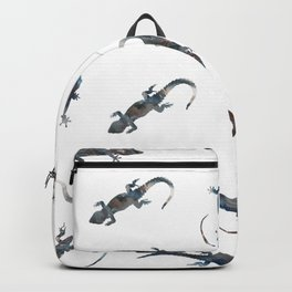 Lizards Pattern Backpack