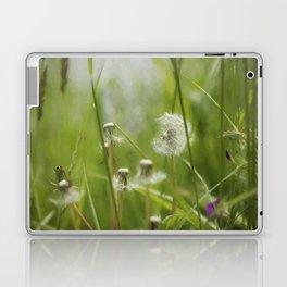 Three-Quarters of a Wish Left painterly Laptop & iPad Skin