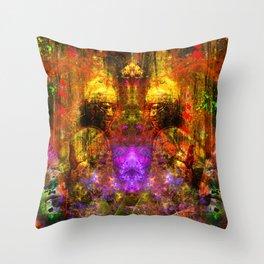 Roman Warrior Spirit Throw Pillow