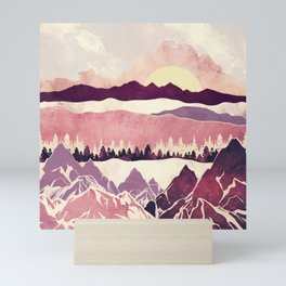 Burgundy Hills Mini Art Print
