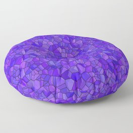 Sapphires and Amethysts Floor Pillow