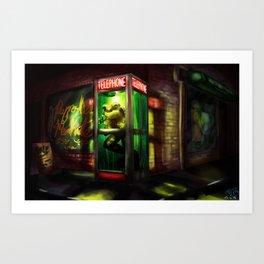 Loveland Frog Art Print