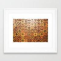 reassurance Framed Art Prints featuring wood work by Magdalena Hristova