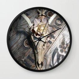Homage to Georgia Wall Clock