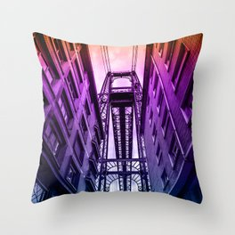 Colorful portugalete Throw Pillow