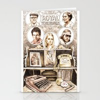 the royal tenenbaums Stationery Cards featuring The Royal Tenenbaums by Aaron Bir by Aaron Bir