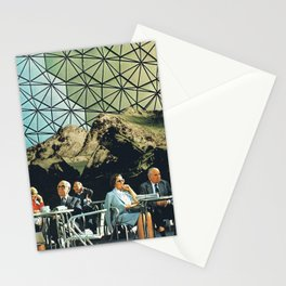 When we are older, vintage collage Stationery Cards