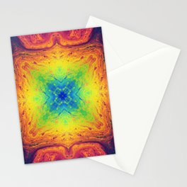 Psychedelic Two Stationery Cards