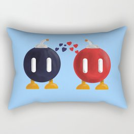Bomb-Omb Love Rectangular Pillow
