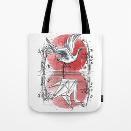 Mirror of water Tote Bag