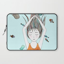 Curious whales Laptop Sleeve