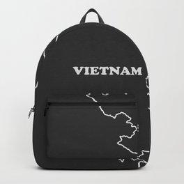 Vietnam map Backpack