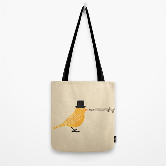 Classical Canary  Tote Bag