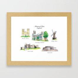 Historical Kent, England Framed Art Print