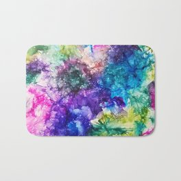 Ink Art / Water Colors / Abstract Bath Mat