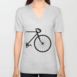 fixie bycicle Unisex V-Neck