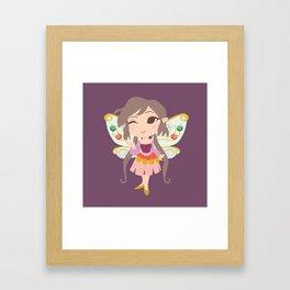 Trinket Fairy Framed Art Print