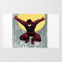 Daredevil. The man without fear Rug