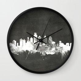 Philadelphia Pennsylvania Skyline Wall Clock