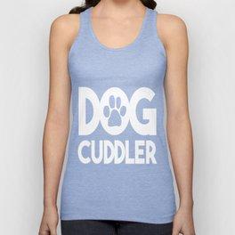Dog Cuddler Unisex Tank Top