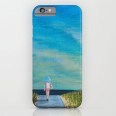 Walking to the Beach iPhone 6s Slim Case