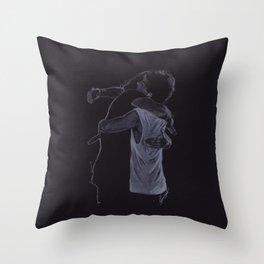 The Larry Hug Throw Pillow